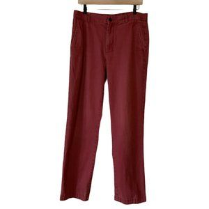 Brooks Brothers 346 Chino Pants Red Men's 32
